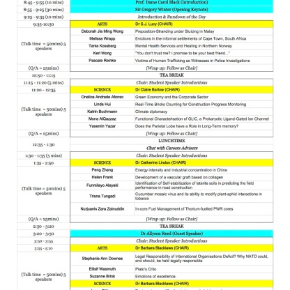 Newnham Conference Schedule copy